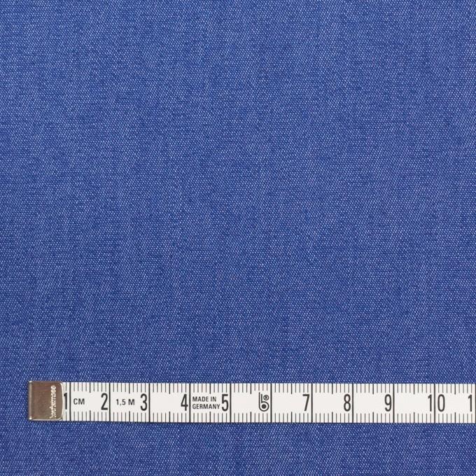コットン&ポリウレタン×無地(オリエンタルブルー)×デニムストレッチ(7oz) イメージ4