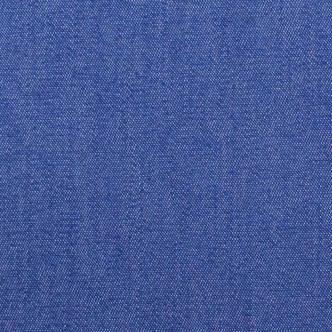 コットン&ポリウレタン×無地(オリエンタルブルー)×デニムストレッチ(7oz) イメージ1