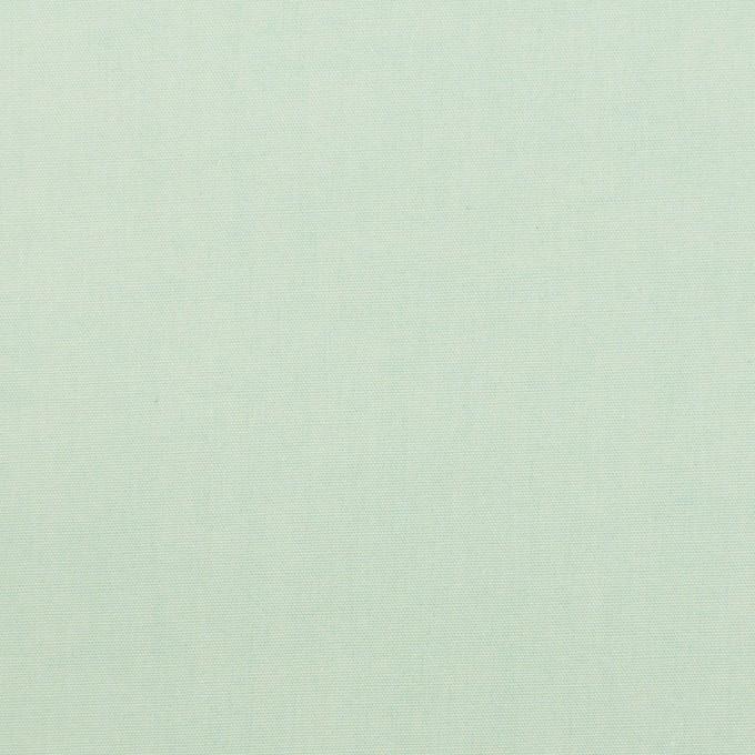 コットン×無地(アイスグリーン)×ブロード_全2色_イタリア製 イメージ1