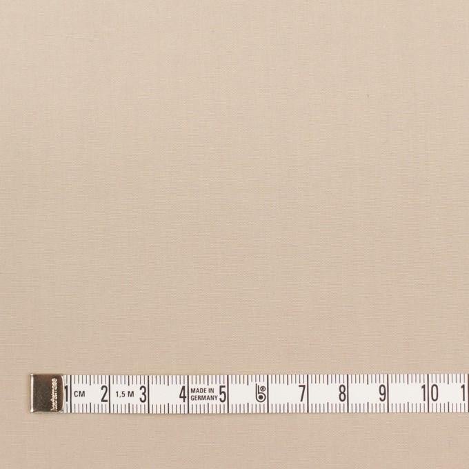 コットン×無地(ベージュ)×ブロード_全2色_イタリア製 イメージ4