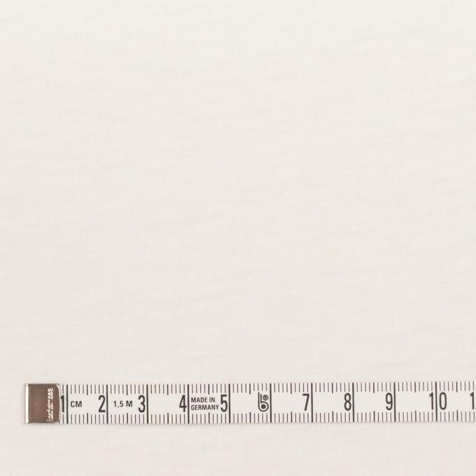 コットン×無地(オフホワイト)×天竺ニット イメージ4