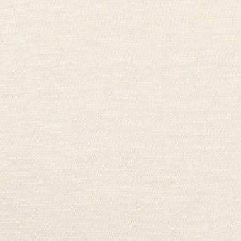 コットン&リネン×無地(クリーム)×天竺ニット サムネイル1