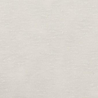 【150cmカット】リネン×無地(ライトグレー)×天竺ニット