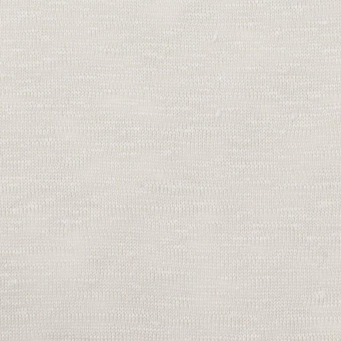 リネン×無地(ライトグレー)×天竺ニット イメージ1