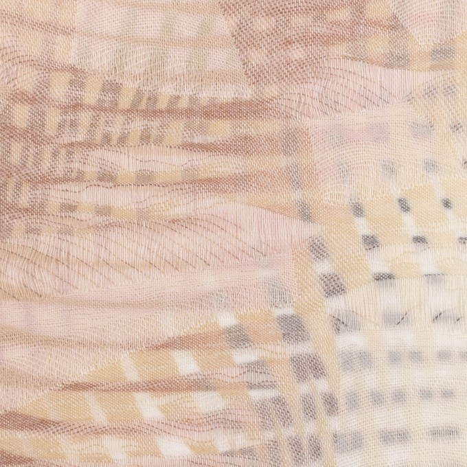コットン×幾何学模様(マルチ)×二重織ジャガード イメージ1