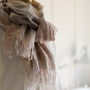 二重織ジャガードのストールキット(マルチ) サムネイル2