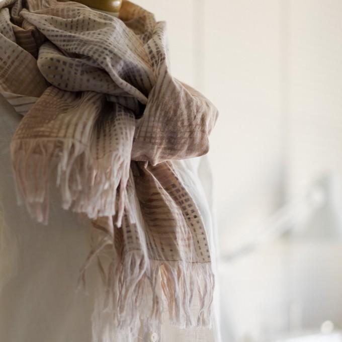 二重織ジャガードのストールキット(マルチ) イメージ2