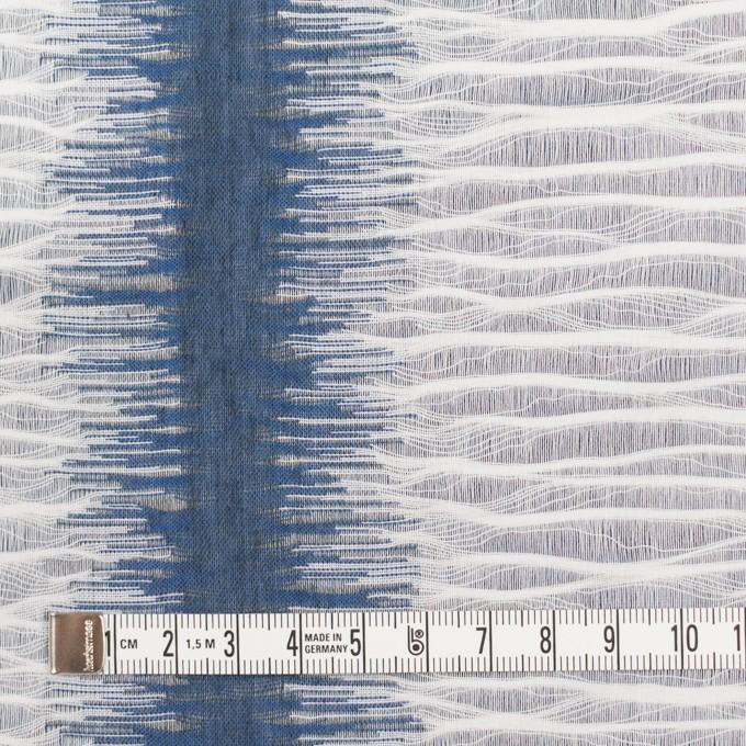 コットン×幾何学模様(アッシュブルー)×二重織ジャガード イメージ7