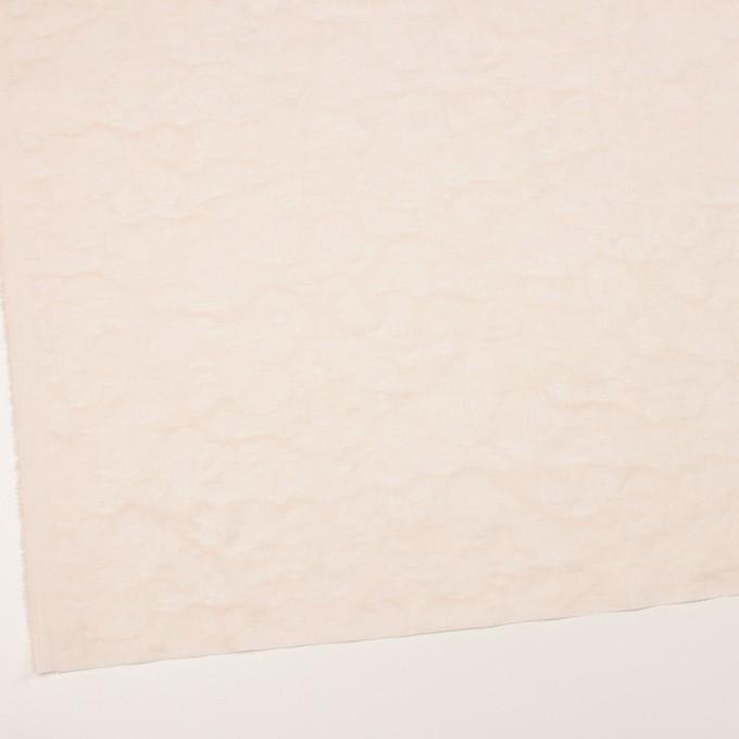 コットン×幾何学模様(クリーム)×二重織ジャガード_全2色 イメージ2