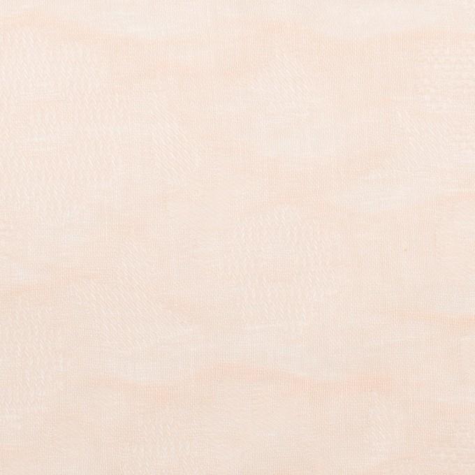 コットン×幾何学模様(クリーム)×二重織ジャガード_全2色 イメージ1