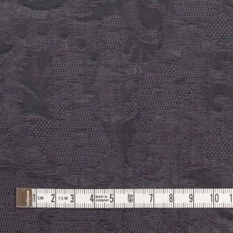 コットン×幾何学模様(グレイッシュパープル)×二重織ジャガード_全2色 サムネイル4