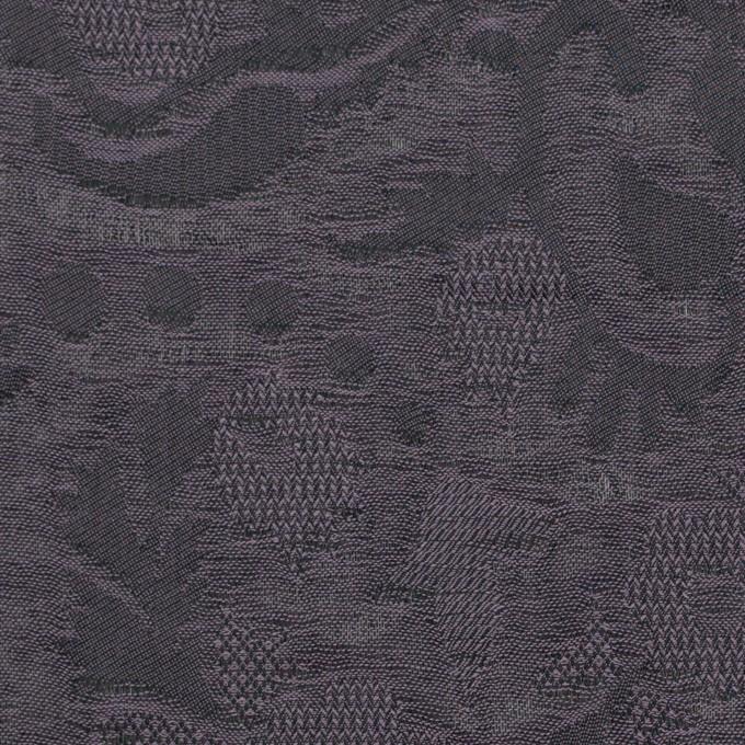 コットン×幾何学模様(グレイッシュパープル)×二重織ジャガード_全2色 イメージ1