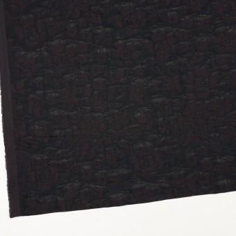 【150cmカット】コットン×フラワー(ビターチョコレート)×二重織ジャガード サムネイル2