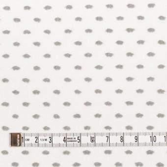 コットン×ドット(グレー)×ボイルカットジャガード サムネイル4