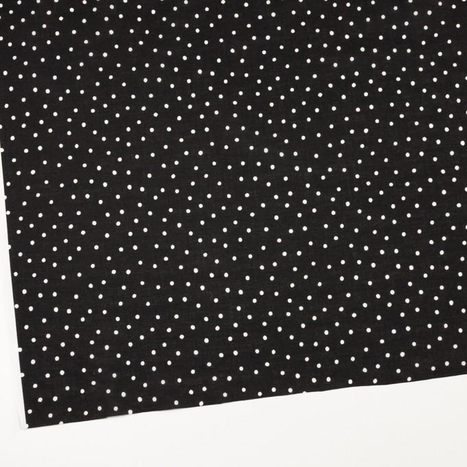 コットン×ドット(ブラック&オフホワイト)×ローン_全3色 イメージ2