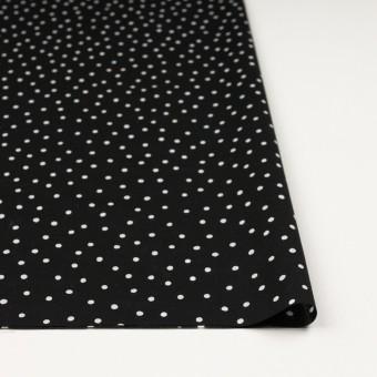 コットン×ドット(ブラック&オフホワイト)×ローン_全3色 サムネイル3