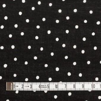 コットン×ドット(ブラック&オフホワイト)×ローン_全3色 サムネイル4