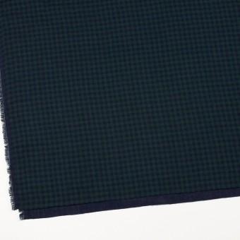 コットン×チェック(モスグリーン&ネイビー)×Wガーゼ サムネイル2