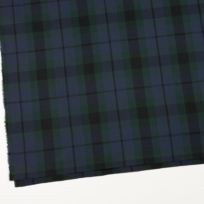 コットン×チェック(モスグリーン&グレープ)×オックスフォード イメージ2