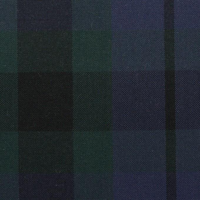 コットン×チェック(モスグリーン&グレープ)×オックスフォード イメージ1