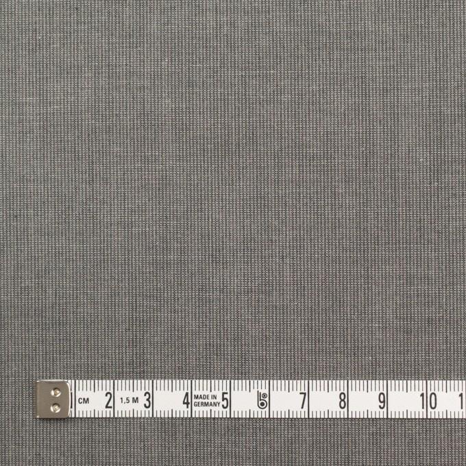 コットン×無地(チャコールグレー)×キャンブリック_イタリア製 イメージ4
