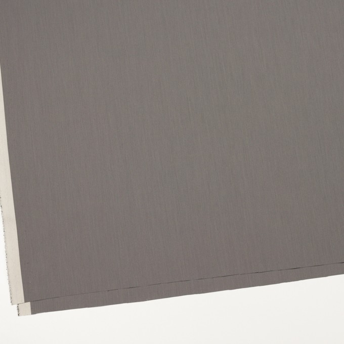 コットン&ポリアミド×無地(ストーングレー)×ブロード_イタリア製 イメージ2