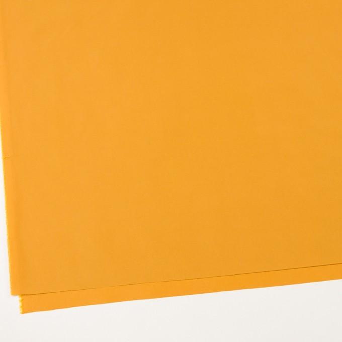 ポリエステル&アセテート×無地(マスタード)×形状記憶タフタ_イタリア製 イメージ2