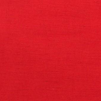 コットン&ポリエステル×無地(レッド)×バックサテンシャンタン_イタリア製 サムネイル1