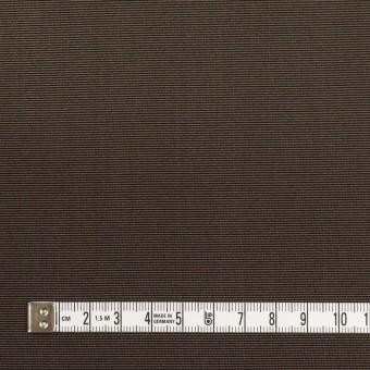 シルク×無地(ダークブラウン)×バックサテングログラン_イタリア製 サムネイル4