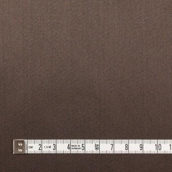 シルク×無地(ダークブラウン)×バックサテングログラン_イタリア製 サムネイル6