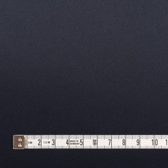トリアセテート×無地(ネイビー)×サテンストレッチ サムネイル4