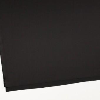 トリアセテート&ポリエステル×無地(ブラック)×サテン サムネイル2