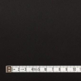 トリアセテート&ポリエステル×無地(ブラック)×サテン サムネイル4
