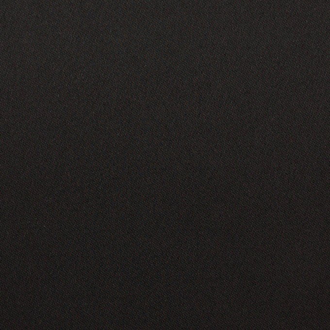 トリアセテート&ポリエステル×無地(ブラック)×サテン イメージ1