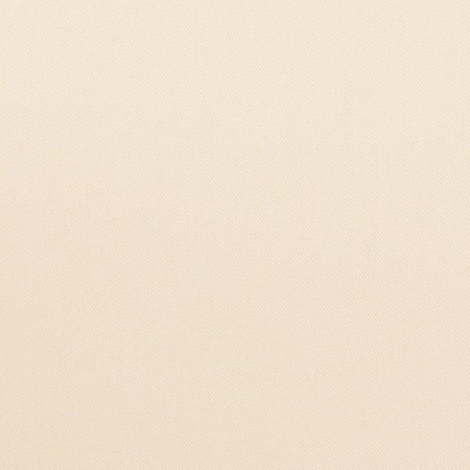 コットン×無地(クリーム)×サージ_イタリア製 イメージ1