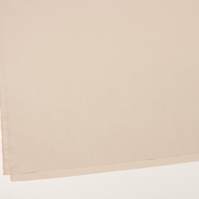 コットン&ポリアミド×無地(ライトベージュ)×ローン_イタリア製 イメージ2