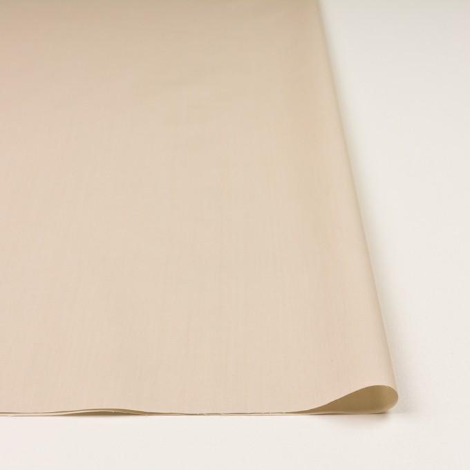 コットン&ポリアミド×無地(ライトベージュ)×ローン_イタリア製 イメージ3