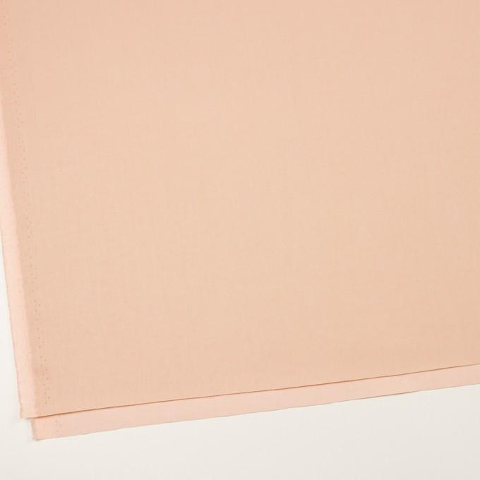 コットン×無地(サーモンピンク)×サージワッシャー_イタリア製_全2色 イメージ2