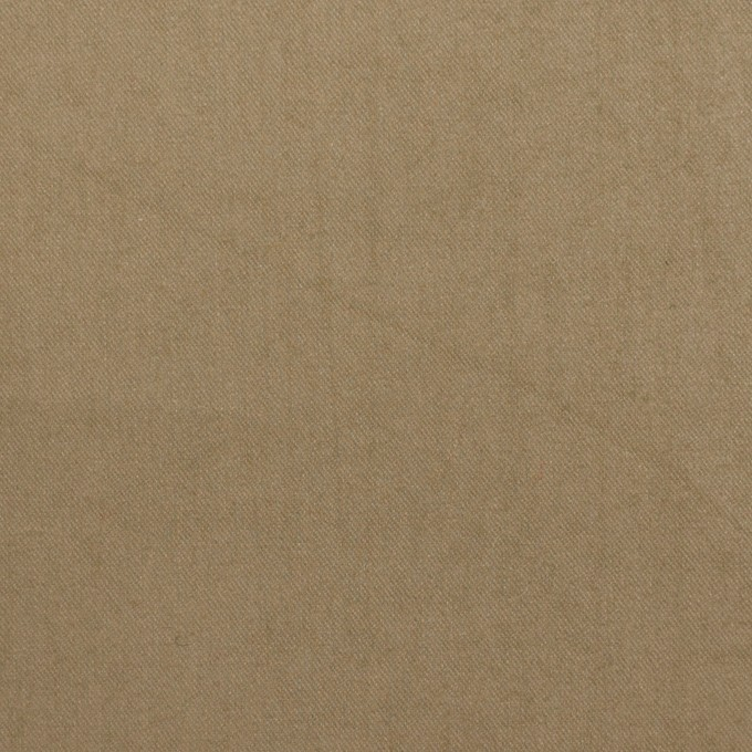 コットン×無地(アッシュカーキ)×サージワッシャー_イタリア製_全2色 イメージ1