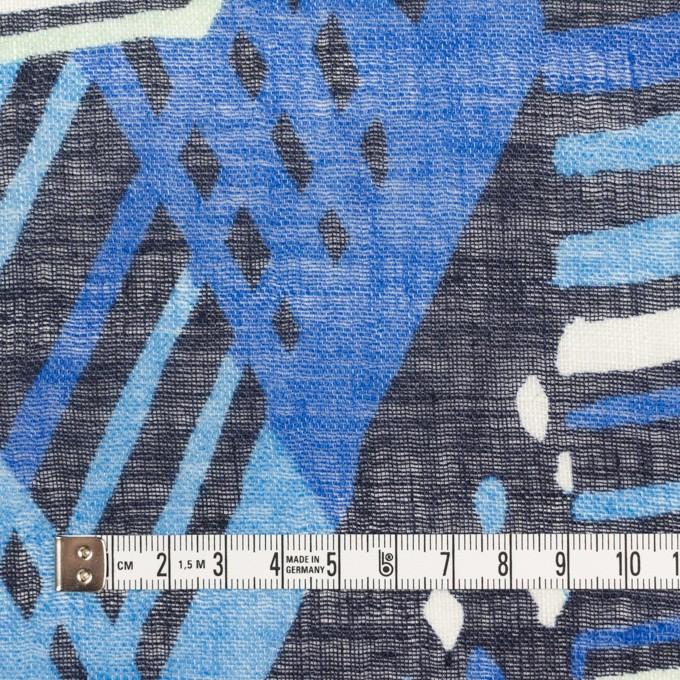 リネン×ペイント(スカイブルー)×ガーゼ_全2色 イメージ4
