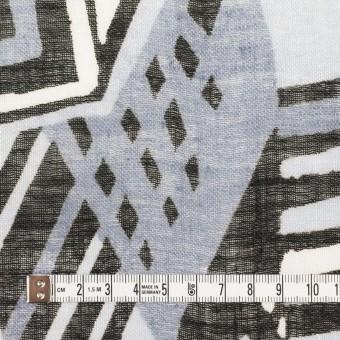 リネン×ペイント(ライトグレー)×ガーゼ_全2色 サムネイル4