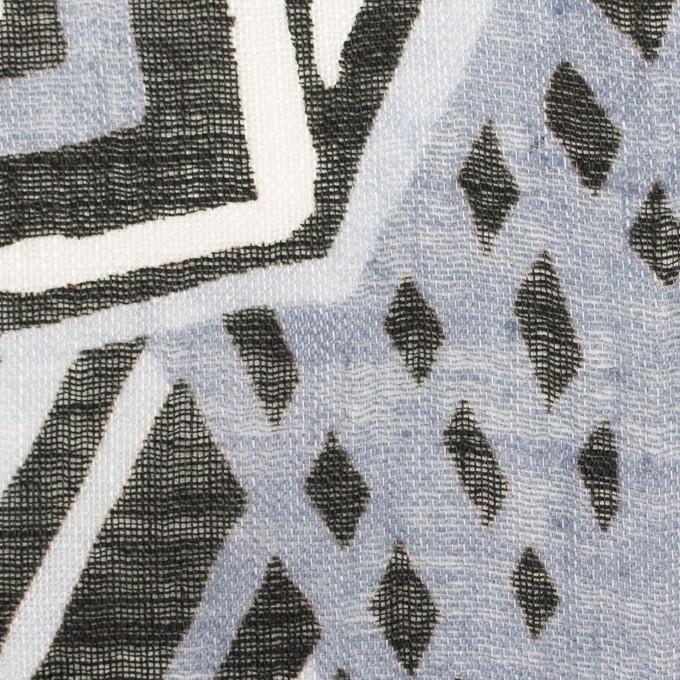 リネン×ペイント(ライトグレー)×ガーゼ_全2色 イメージ1
