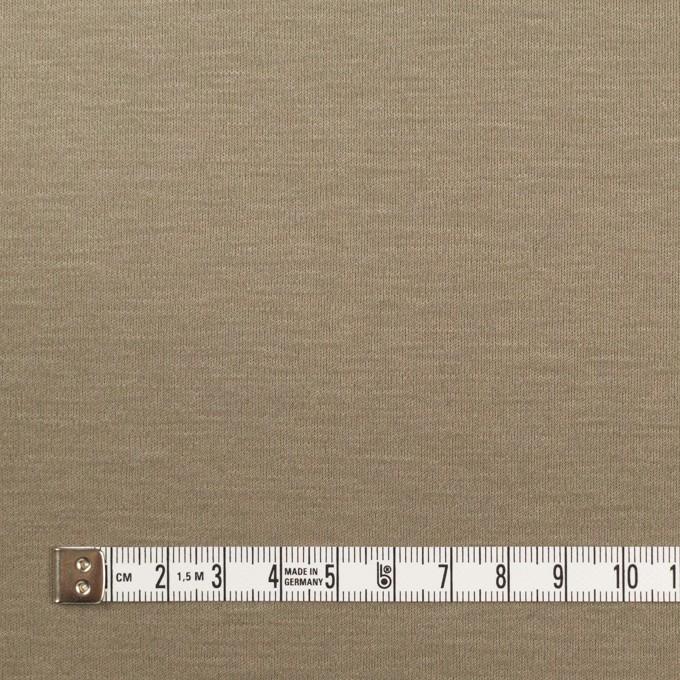コットン&モダール×無地(アッシュカーキ)×スムースニット イメージ4