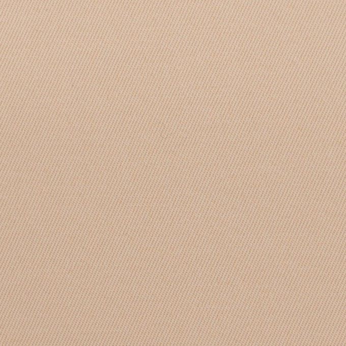 ポリアミド&コットン混×無地(ウォームベージュ)×サージストレッチ_イタリア製 イメージ1