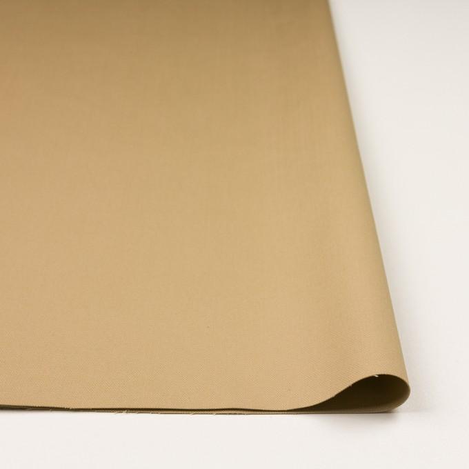 コットン&ポリウレタン×無地(ベージュ)×かわり織ストレッチ イメージ3