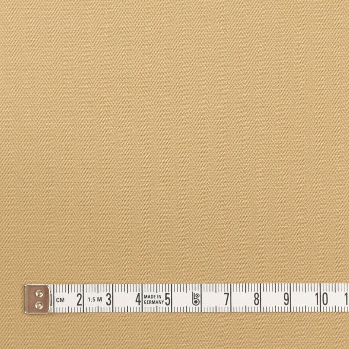 コットン&ポリウレタン×無地(ベージュ)×かわり織ストレッチ イメージ4