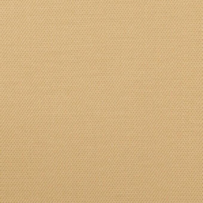 コットン&ポリウレタン×無地(ベージュ)×かわり織ストレッチ イメージ1