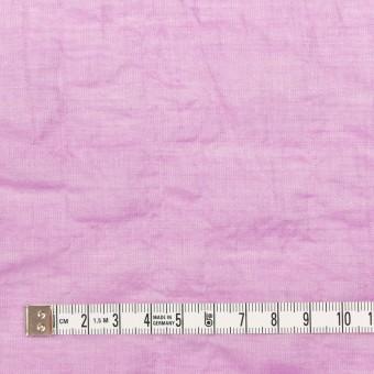 テンセル&コットン混×無地(オペラモーブ)×ボイルシャーリング_全4色 サムネイル4