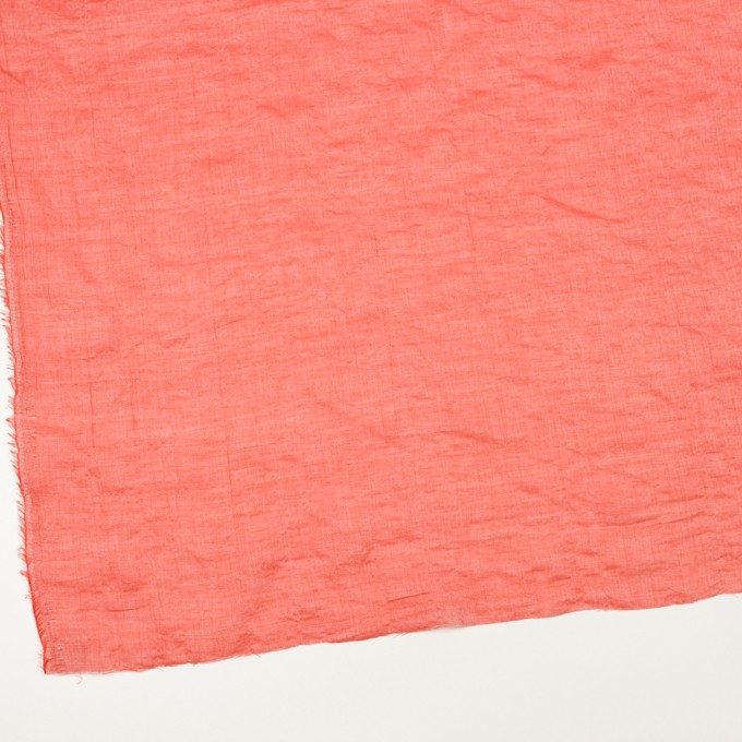 テンセル&コットン混×無地(パッションレッド)×ボイルシャーリング_全4色 イメージ2