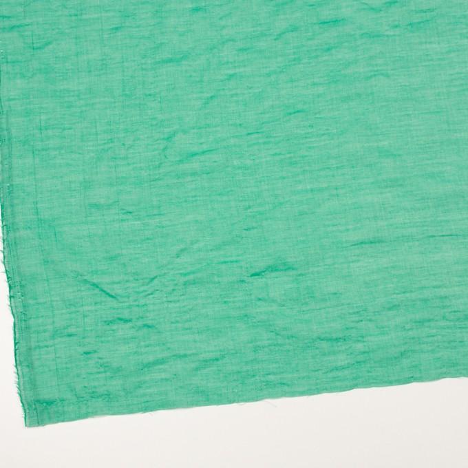 テンセル&コットン混×無地(エメラルドグリーン)×ボイルシャーリング_全4色 イメージ2